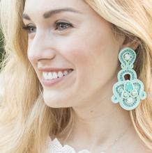 Belinda Turquoise Statement Earrings