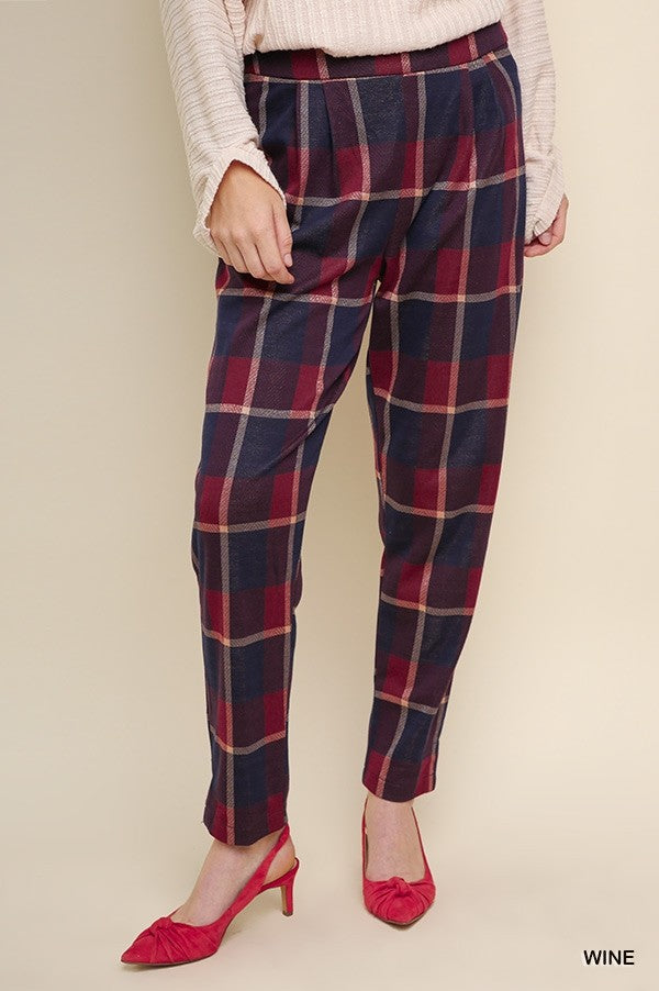 Top O' The Morning Plaid Pants