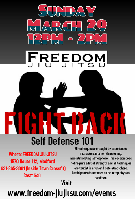 Self Defense 101 - Admission - Early Bird