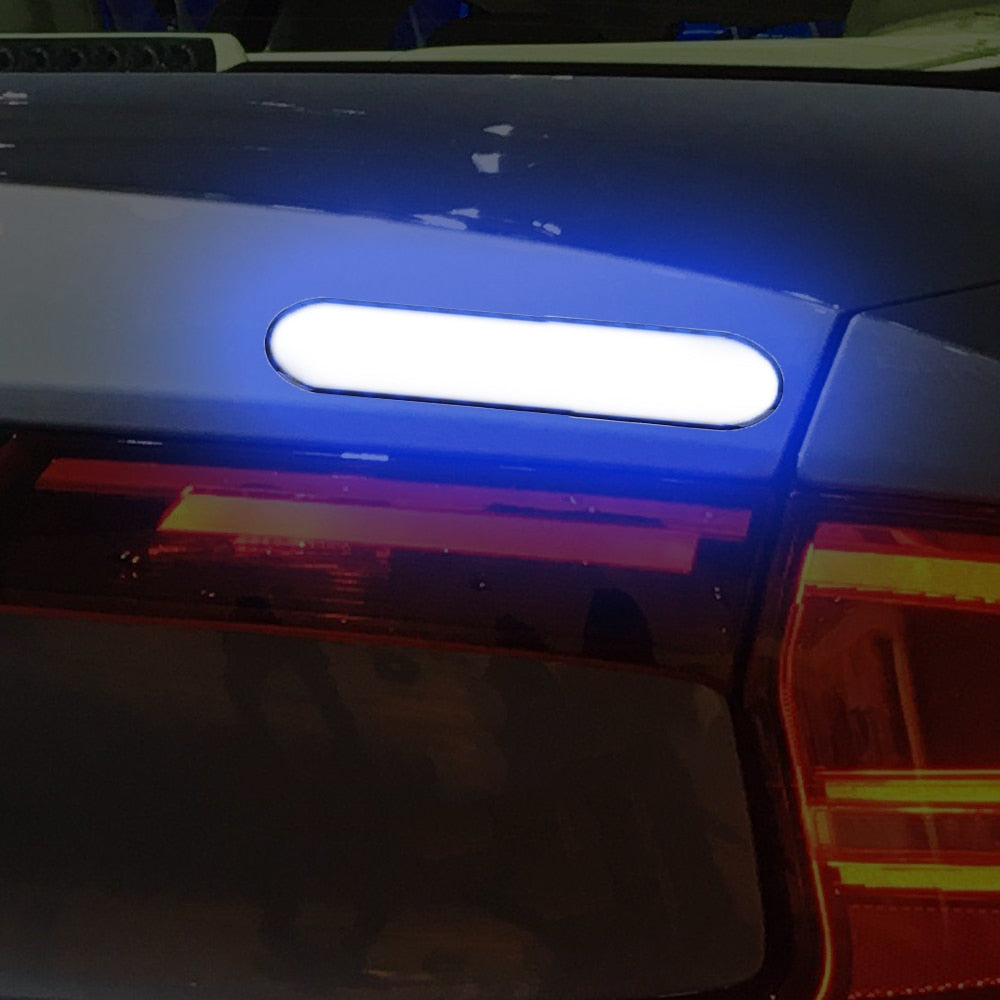 Rear Tail Auto Universal Warning Mark Safety Reflective Tape Car Door Stickers