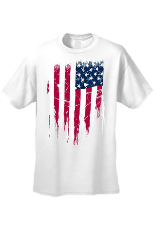 Lulci Fight for your Freedom USA Flag Tee