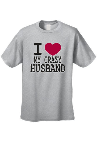 "Lulci ""I Love My Crazy Husband"" Tee"