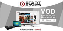 Charger l'image dans la galerie, code start movies