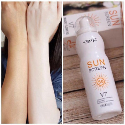 SUNSCREEN SPRAY V7 SPF50 KOREA