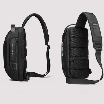 【Buy 2 Get 15% OFF】Waterproof Sling Bag With USB Charging Port