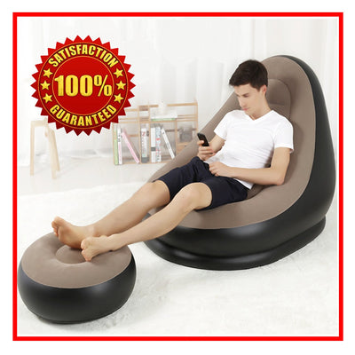 ULTRA LOUNGE INFLATABLE SOFA CHAIR SET 2
