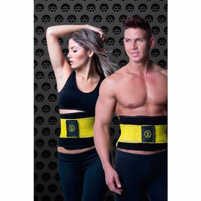 EXTREME HOT POWER SLIM BELT (SEE RESULTS IN 30 DAYS) WITH FREE BODYXPERT SHAPE FIRMING LOTION