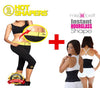HOT SHAPERS POWER-KNEE PANTS WITH FREE MISS BELT