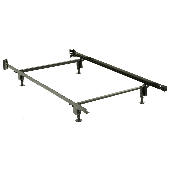 Inst-A-Matic® Bed Frame with rug rollers w/ brake locks
