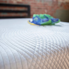 "Load image into Gallery viewer, ""Off to College"" TWIN Mattress + Sleep Calm Memory PIllow (Standard)"