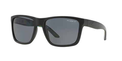 Lentes Arnette Witch Doctor Fuzzy Black Green /Grey Polarized AN4177 222981