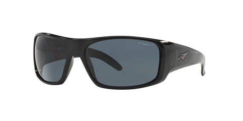 Arnette La Pistola Gloss Black / Polarized Grey AN4179 41/81
