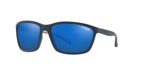 Lentes Arnette Hand Up Blue Rubber / Blue Mirror AN4249 255155 63