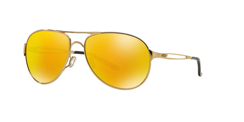 Lentes Oakley Mujer Caveat Polished Gold / Fire Iridium OO4054-17