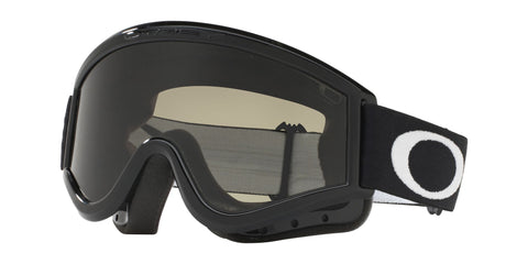 Goggles Oakley L Frame MX Sand Jet Black / Dark Grey - Clear OO7008 01-631