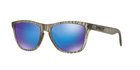Lentes Oakley Frogskins Matte Grey - Sapphire Iridium Urban Jungle OO9013-68