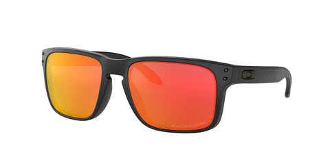 Lentes Oakley Holbrook Matte Black / Ruby Iridium Polarized OO9102-51