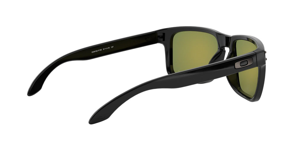 f1dfc1e3e9 Lentes Oakley Holbrook Polished Black   Prizm Ruby Polarized OO9102 ...