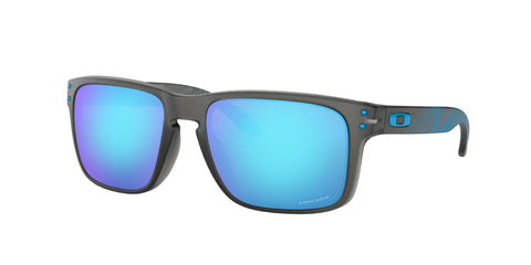 Lentes Oakley Holbrook Matte Grey Smoke / Prizm Sapphire OO9102-F2 Aero Grid Collection