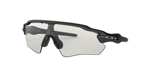 Lentes Oakley Radar EV Path Steel / Clear Black Iridium Photochromic OO9208-13