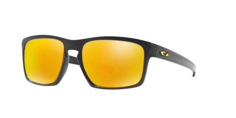 Lentes Oakley Sliver Polished Black / Fire Iridium OO9262-27 Valentino Rossi VR46