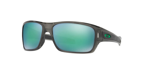 Lentes Oakley Turbine Grey Smoke / Jade Iridium Polarized OO9263-09