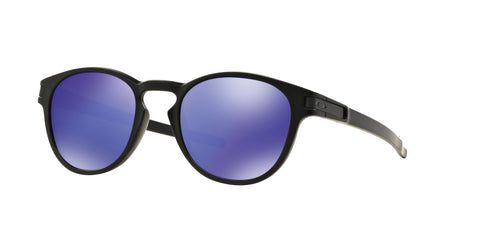 Lentes Oakley Latch Matte Black / Violet Iridium OO9265-06