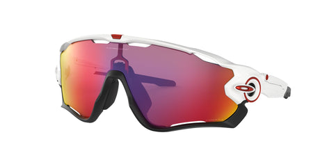 Lentes Oakley Jawbreaker Polished White / Prizm Road OO9290-05