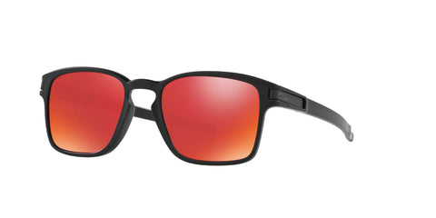 Lentes Oakley Latch Square Matte Black / Torch Iridium OO9353-03
