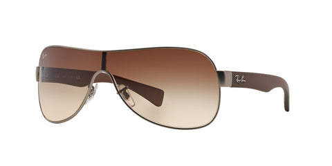 Lentes Mujer Ray-Ban Silver Brown / Brown Gradient RB 3471 029/13 32