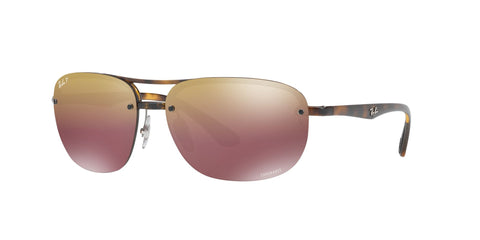 Lentes Ray-Ban RB 4275 710/6B Chromance Tortoise / Purple Mirror Polarized