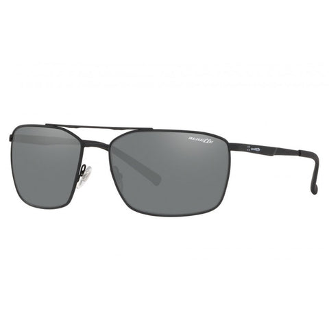 Arnette Maboneng Rubber Black / Grey Mirror Si An3080 696/6G