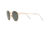 Ray-Ban RB 3447 112/58 50 Round Matte Gold / Green Classic G-15 Polarized