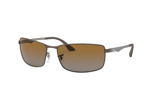 Lentes Ray-Ban RB 3498 029/T5 61 Gunmetal / Brown Gradient Polarized