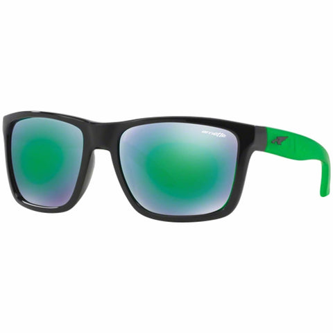 Arnette Witch Doctor Gloss Black / Mirror Green AN4177 22453R
