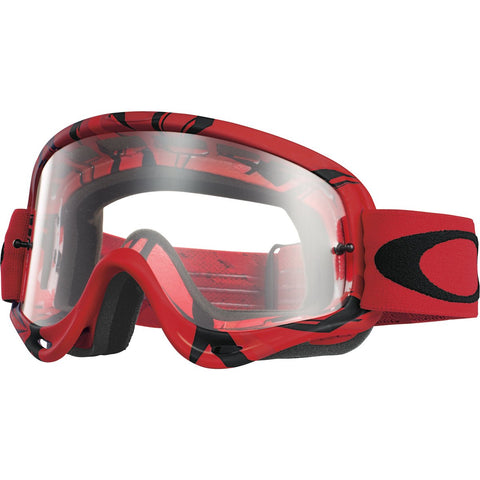 Goggles Oakley O Frame MX Intimidator Red Black / Clear OO7029-09