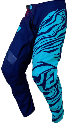 Pantalón Answer Syncron Flow Azul / Aqua Moto Cross