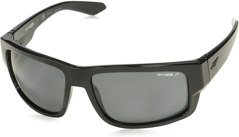 Arnette Grifter Gloss Black / Polarized Grey AN4221 41/81 62