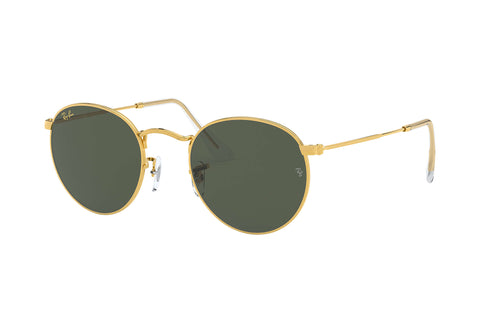 Ray-Ban RB 3447 919631 50 Round Gold / Green Classic G-15