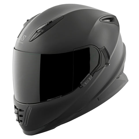 Casco Integral SS1600 Speed & Strength Solid Matte Black