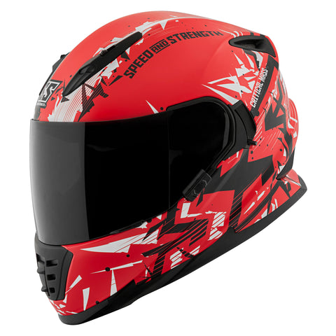 Casco Integral SS1600 Speed & Strength Critical Mass Red