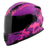 Casco Integral Ss1600 Speed & Strength Critical Mass Mujer