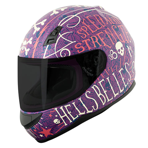 Casco Integral Mujer SS700 Speed & Strength Hell´s Belles Purple