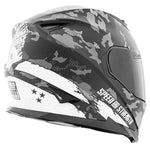Casco Integral Ss1600 Speed & Strength Straight Savage White
