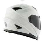 Casco Integral Mujer SS1600 Speed & Strength Cat Hell White