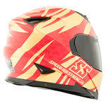 Casco Integral Mujer SS1600 Speed & Strength Cat Hell Red Gd