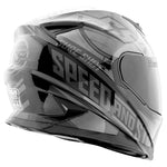 Casco Integral SS1600 Speed & Strength Sure Shot Black/Grey