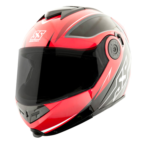 Casco Abatible SS1710 Speed & Strength Split Decision Red