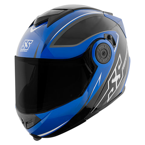 Casco Abatible SS1710 Speed & Strength Split Decision Blue