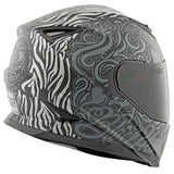 Casco Integral Mujer SS1310 Speed & Strength Black Heart Gry